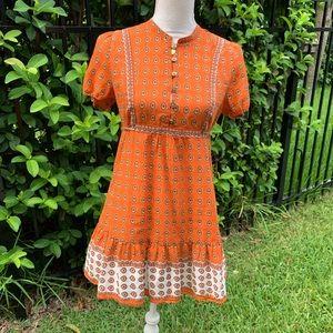 Rare Juicy Couture Boho Dress Size Small